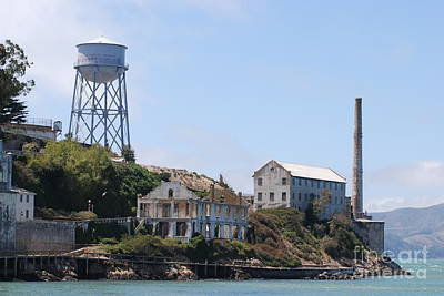 Art Print featuring the photograph Alcatraz by George Mount