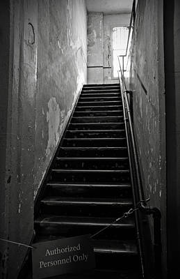 Photograph - Alcatraz Hospital Stairs by RicardMN Photography