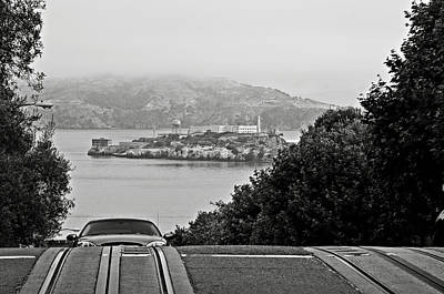 Photograph - Alcatraz Island From Hyde Street In San Francisco by RicardMN Photography