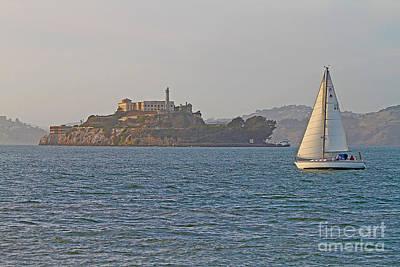 Alcatraz Photograph - Alcatraz Island by Jack Schultz
