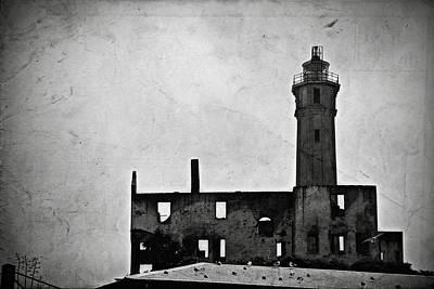 Alcatraz Photograph - Alcatraz Island Lighthouse by RicardMN Photography