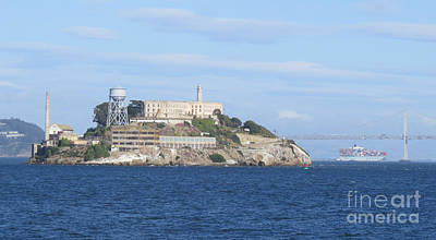 Photograph - Alcatraz Island by Mary Mikawoz