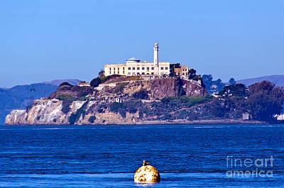 Alcatraz Digital Art - Alcatraz Island by Pravine Chester