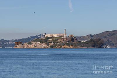 Alcatraz Prison Photograph - Alcatraz Island San Francisco California 5dimg2521 by Wingsdomain Art and Photography
