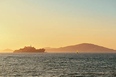 Photograph - Alcatraz Island by Songquan Deng