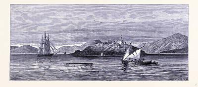 Alcatraz Island United States Of America Art Print