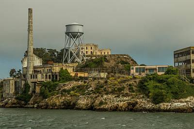 Pretty Boy Floyd Photograph - Alcatraz by Ken Kobe