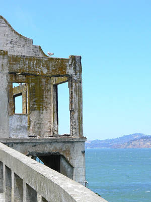 Photograph - Alcatraz by Laurel Powell