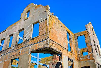 Thomas Kinkade Royalty Free Images - Alcatraz Out Building Royalty-Free Image by James O Thompson