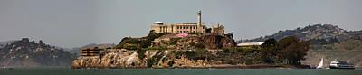 Alcatraz Panorama Art Print