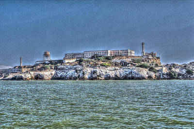 Photograph - Alcatraz by SC Heffner