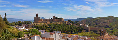 Alcazaba Castle In Antequera, Malaga Art Print by Panoramic Images