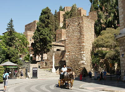 Photograph - Alcazaba by Olaf Christian
