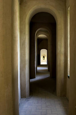 Photograph - Alcazar Arches Into Infinity by Lorraine Devon Wilke