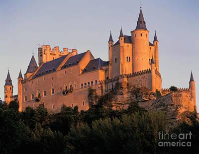 Castle Photograph - Alcazar Castle, Segovia, Spain by Rafael Macia