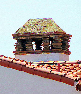 Photograph - Alcazar Chimney by Randall Weidner