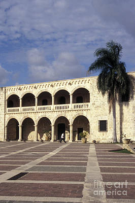 Photograph - Alcazar De Colon Santo Domingo by John  Mitchell