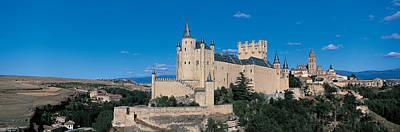 Alcazar Segovia Spain Art Print