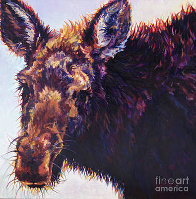 Wildlife Art Painting - Alces by Patricia A Griffin