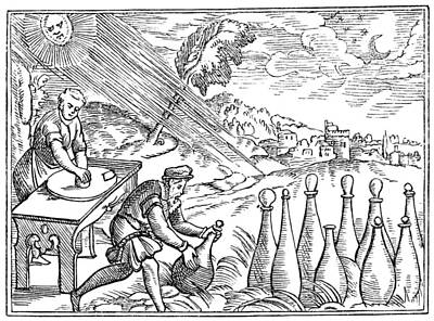 Alchemists Print by Granger