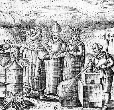 Stein Photograph - Alchemy by Universal History Archive/uig