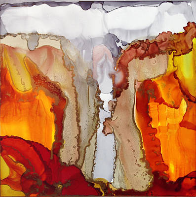 Painting - Alcohol Ink On Yupo #1 by Dennis Brady