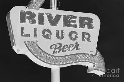 Photograph - Alcohol Sign by Jerry Bunger