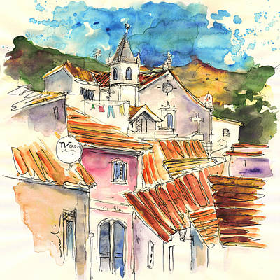 Painting - Alcoutim In Portugal 09 by Miki De Goodaboom