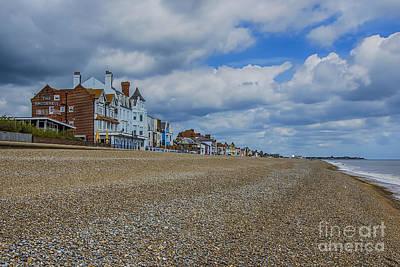Aldeburgh Beach View Art Print
