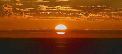 Photograph - Aldinga Beach Sunset by Jocelyn Kahawai
