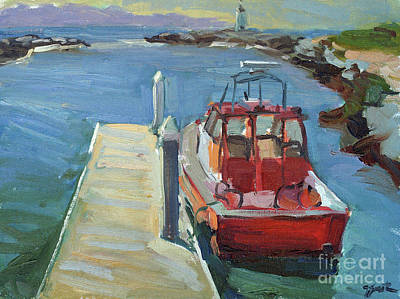 Painting - Aldo's Tug by Sandra Smith-Dugan
