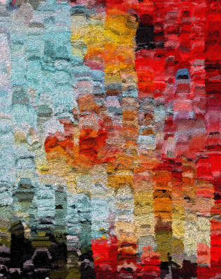 Papier Mache Digital Art - Alegria IIi by Zoia  Luecht