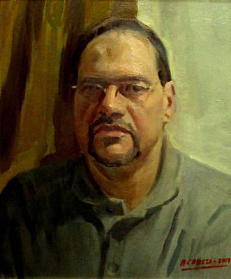 Painting - Alejandro Cabeza - Juan Antonio by Alejandro Cabeza