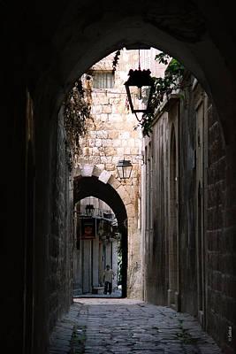 Aleppo Alleyway01 Art Print