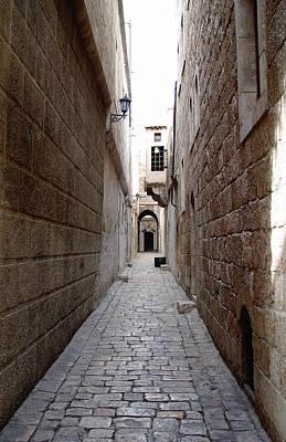 Aleppo Alleyway02 Art Print