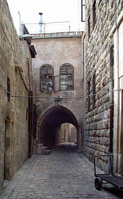 Aleppo Alleyway03 Art Print