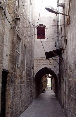 Photograph - Aleppo Alleyway04 by Mamoun Sakkal