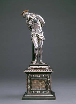 Alessandro Algardi, Christ At The Column Print by Quint Lox
