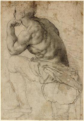 Alessandro Allori, A Pearl Diver, Italian Print by Quint Lox