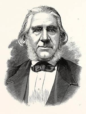 Alessandro Gavazzi, 1809 - 1889, Italian Preacher Print by English School