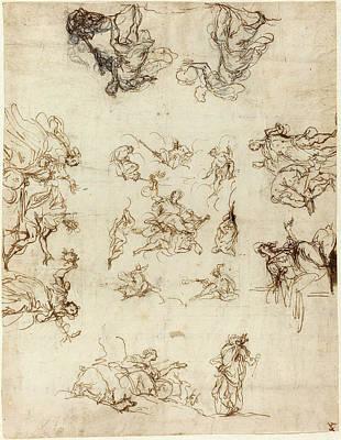 Alessandro Maganza Italian, 1556 - 1640 Print by Quint Lox