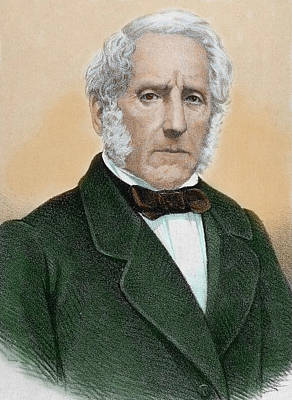 1848 Photograph - Alessandro Manzoni (1785-1873 by Prisma Archivo