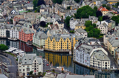 Photograph - Alesund Norway by Gerda Grice