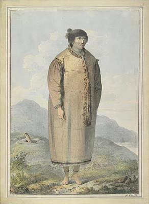 Aleut Photograph - Aleut Woman Of Unalaska Island by British Library