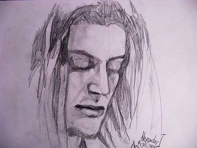 Rasta Drawing - Alex by Agata Suchocka-Wachowska