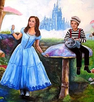 Painting - Alex In Wonderland by Melodye Whitaker