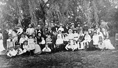 Group Portraits Photograph - Alexander Bell's School For Deaf Children by Library Of Congress