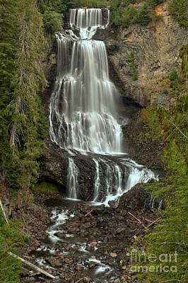 Photograph - Alexander Falls - Whistler Bc by Adam Jewell