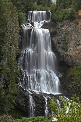 Photograph - Alexander Falls - Whistler British Columbia by Adam Jewell