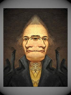 Digital Art - Alexander Hamilton  2  by Zac AlleyWalker Lowing